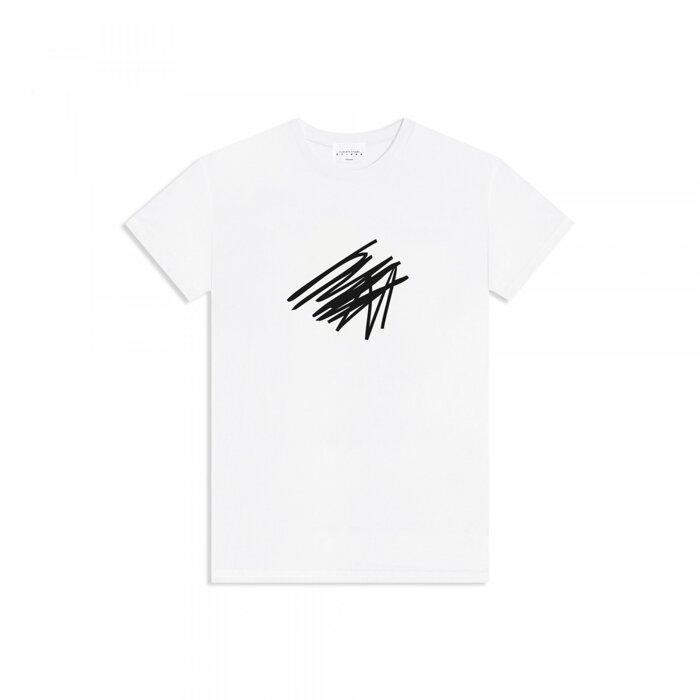 T-SHIRT-SCRIBBLE-WHITE